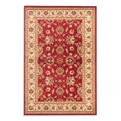 Safavieh Vanity Red/Ivory 2-Foot 3-Inch x 12-Foot Runner