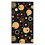 Safavieh Vera Black/Multi 5-Foot 3-Inch x 7-Foot 7-Inch Room Size Rug