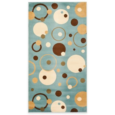 Safavieh Vera Blue/Multi 2-Foot 4-Inch x 6-Foot 7-Inch Runner