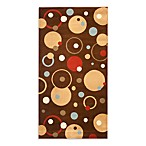 Safavieh Vera Brown/Multi 4-Foot x 5-Foot 7-Inch Accent Rug