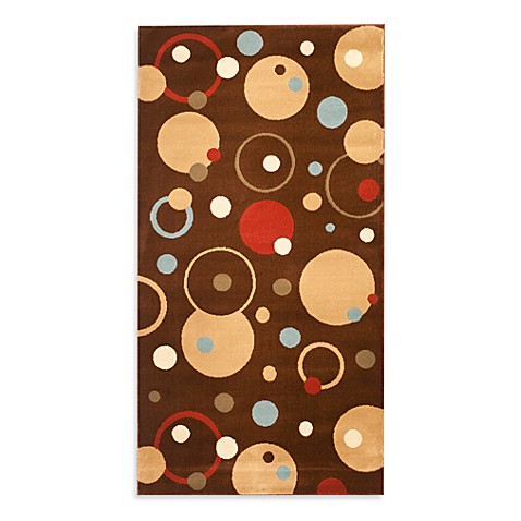 Safavieh Vera Brown/Multi 2-Foot 4-Inch x 6-Foot 7-Inch Runner