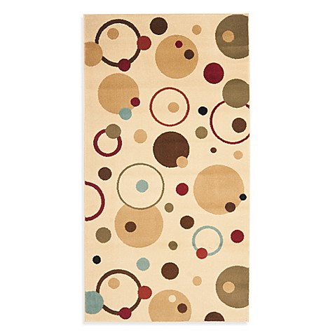 Safavieh Vera 4-Foot x 5-Foot 7-Inch Accent Rug in Ivory/Multi
