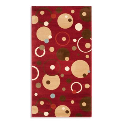 Safavieh Vera Red/Multi 6-Foot 7-Inch x 9-Foot 6-Inch Room Size Rug