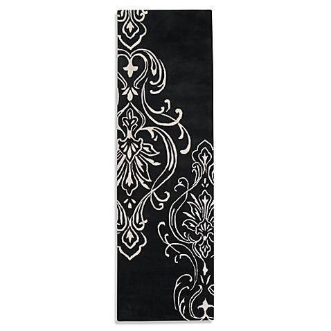 Surya Candice Olson Modern Classics Rug in Black and White