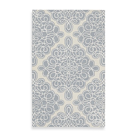 Surya Candice Olson Modern Classics Rug in Off White, Grey Blue, Ivory