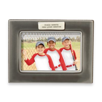 Simple Moments Make Great Memories 4-Inch x 6-Inch Frame