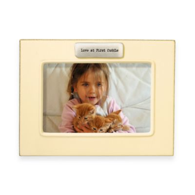 Baby Frames > Love at First Cuddle 4-Inch x 6-Inch Frame