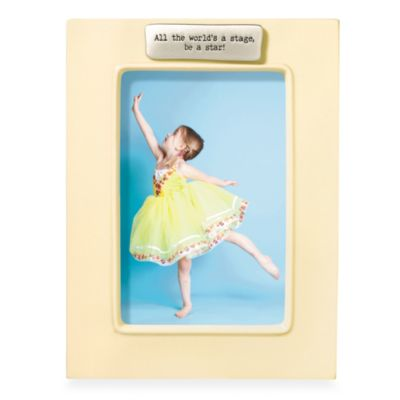 Be a Star 4-Inch x 6-Inch Frame