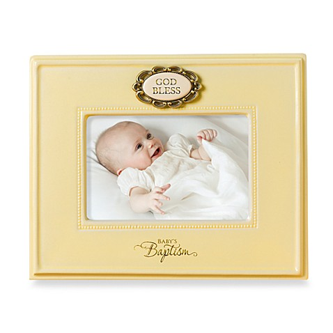 Baby's Baptism 4-Inch x 6-Inch Frame