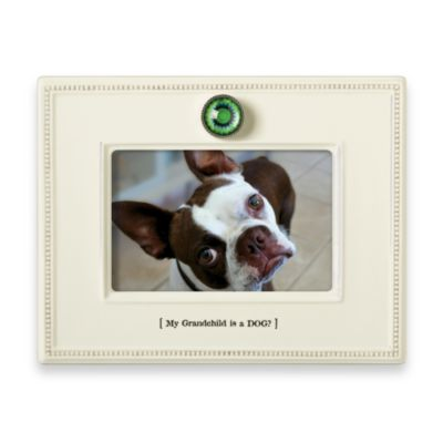 My Grandchild is a Dog 4-Inch x 6-Inch Pet Frame