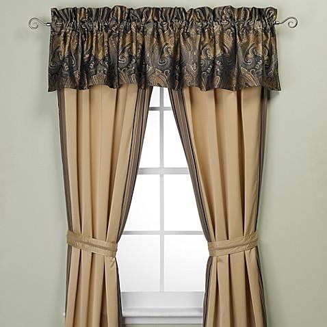 Raymond Waites 174 Prexy Window Curtain Panels Bed Bath