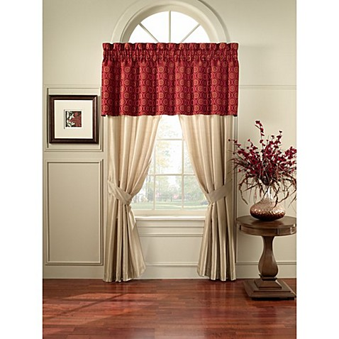 Casablanca 84-Inch Window Curtain Panel Pair