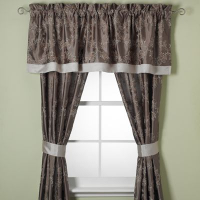 Kennedy 84-Inch Window Curtain Panel Pair