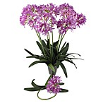 Nearly Natural Silk 29-Inch African Lily Stems (Set of 12)