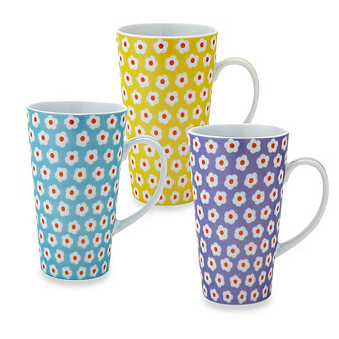 Classic Coffee & Tea 11-Ounce Daisy Mug