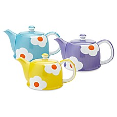 Classic Coffee & Tea 32-Ounce Daisy Teapot