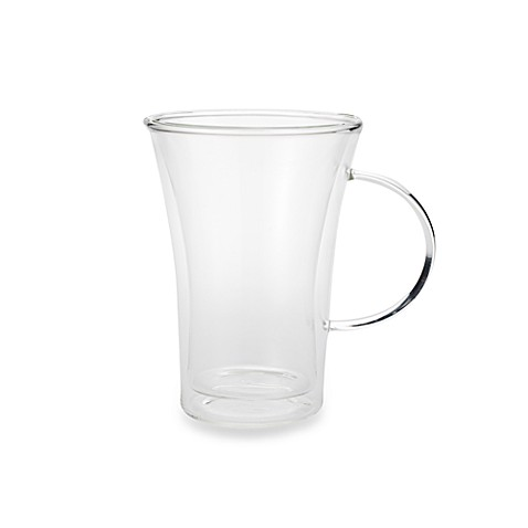 Classic Coffee & Tea 11-Ounce Double-walled Glass Mug