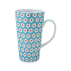 Classic Coffee & Tea 11-Ounce Daisy Mug in Light Blue