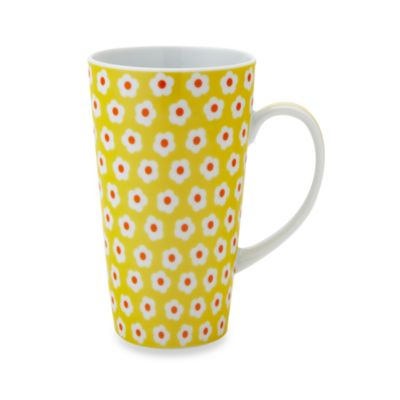 Classic Coffee & Tea 11-Ounce Daisy Mug in Yellow
