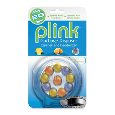 Plink® Garbage Disposal Cleaner & Deodorizer in 20-Count Variety Pack