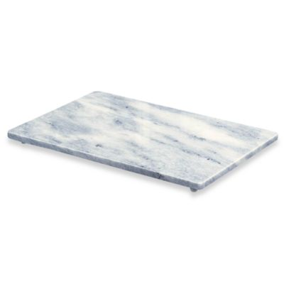White Marble 12-Inch x 18-Inch Cutting Board