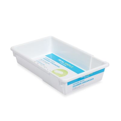 Real Simple® Expand-To-Fit 6-Inch W x 9-Inch to 12-Inch L Drawer Organizer