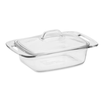 Pyrex® Easy Grab™ 2-Quart Covered Glass Casserole