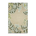 Ornamental Leaf Border Rug