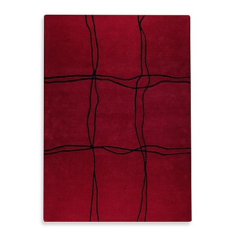 "Amsterdam Red 36"" x 64"" Accent Rug"