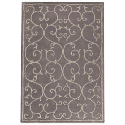 MAT Annapurna 5-Foot 6-Inch x 7-Foot 10-Inch Accent Rug in Grey