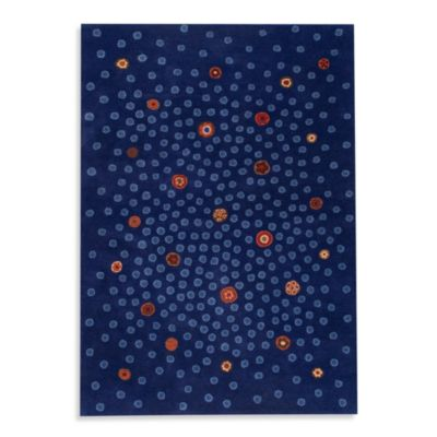 MAT Springfield Swank 5-Foot 6-Inch x 7-Foot 10-Inch Room Size Rug in Blue