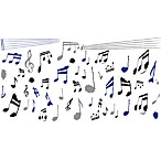 Musical Notes Vinyl Wall Decal Set