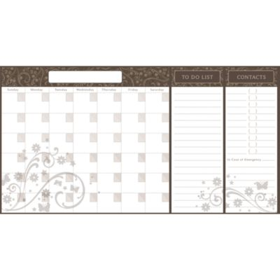 Calender and Organizer Vinyl Wall Decal Set