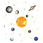 Solar System Vinyl Wall Decal Set