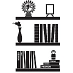 Bookshelves Vinyl Wall Decal Set