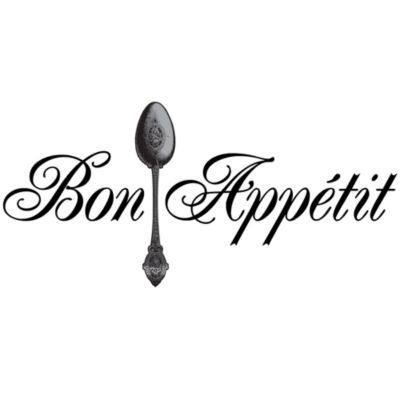 Bon Appetit Vinyl Wall Decal Set