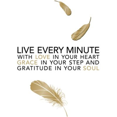 Die Cuts with a View in Live Every Minute in Vinyl Wall Decal Set