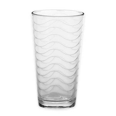 Wave 17-Ounce Highball Glasses