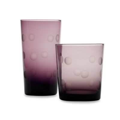 Home Essentials Pulse 17-Ounce High Ball in Purple (Set of 4)