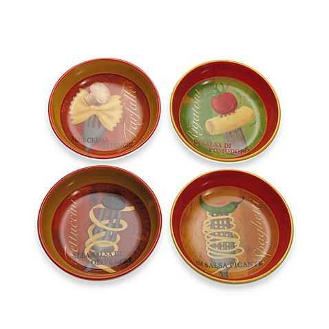 Chef's Table 8-Inch Pasta Bowls (Set of 4)