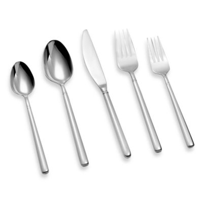 Ginkgo Svelte 20-Piece Flatware Set