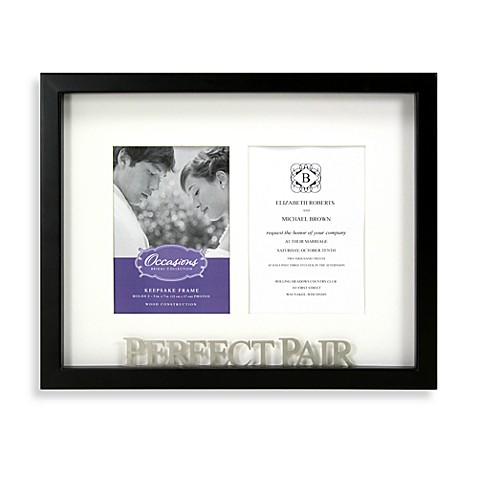 Bridal Perfect Pair Collage Frame