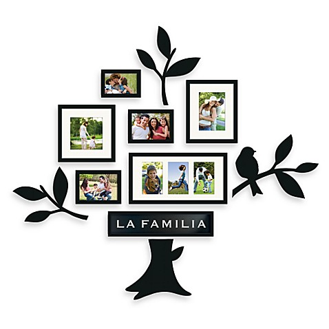 Wallverbs™ Familia 11-Piece Frame and Plaque Set