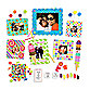 Butch and Harold Sweets Sticker Frames (Set of 7)