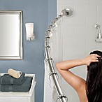 The Gripper™ Easy Install Adjustable Curved Shower Rod in Chrome