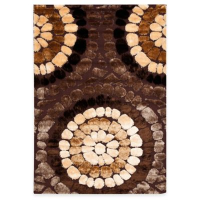 "Safavieh Corbit Brown/Multi 5' 3"" x 7' 5"" Accent Rug"