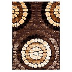 Safavieh Corbit 4' x 6' Accent Rug in Brown/Multi
