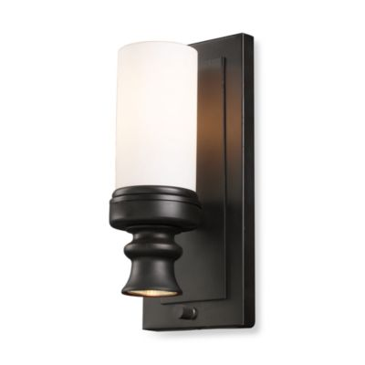 Elk Lighting Newfield 1-Light Sconce in Oiled Bronze