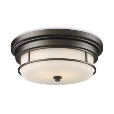 Elk Lighting Newfield 2-Light Flush Mount Fixture
