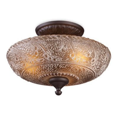 ELK Lighting Norwich Semi Flush Mount Fixture